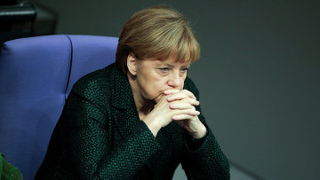 Канцлер Германии Ангела Меркель. Архивное фото.