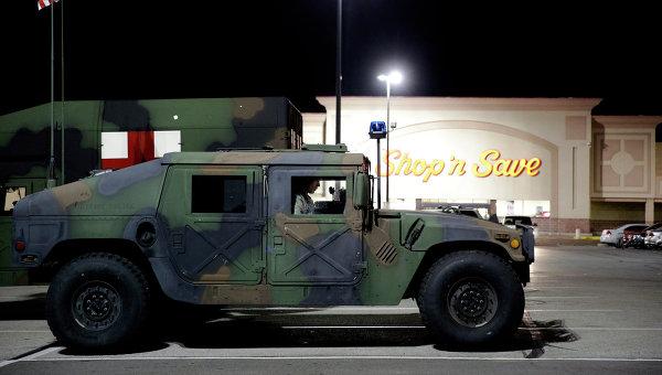 Автомобиль национальной гвардии США, архивное фото