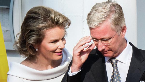 Король Бельгии Филипп и королева Матильда. Архивное фото