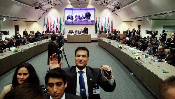 Саммит ОПЕК в Вене 27 ноября 2014