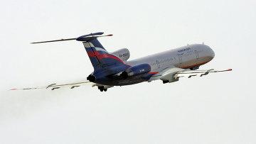 Самолет Ту-154м авиакомпании Аэрофлот. Архивное фото