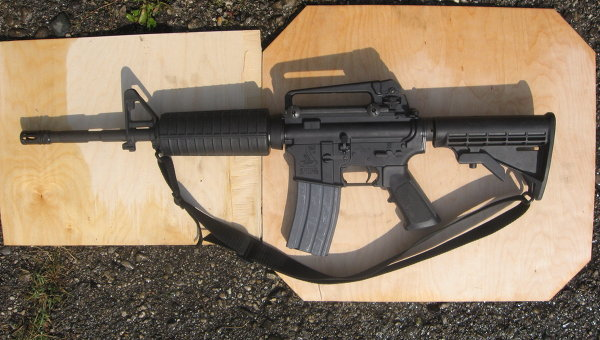 Американская автоматическая винтовка. Архивное фото