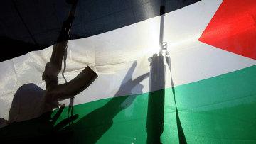 Флаг Палестины. Архивное фото