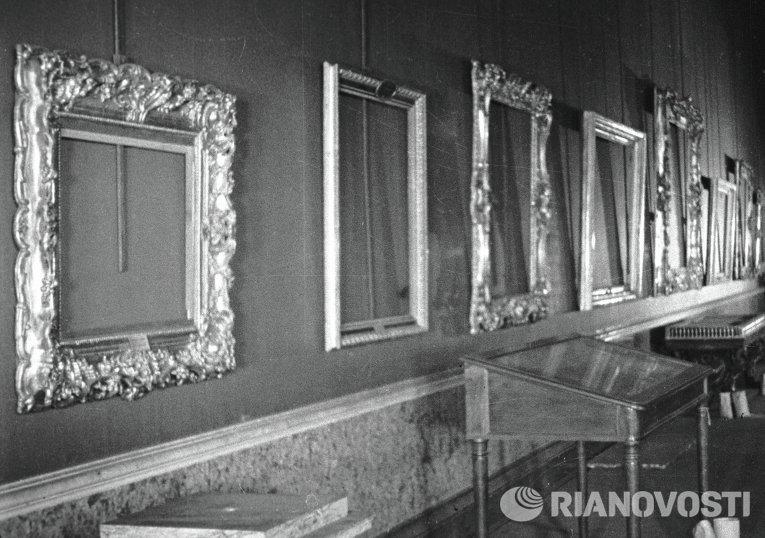 Эрмитаж в дни блокады Ленинграда