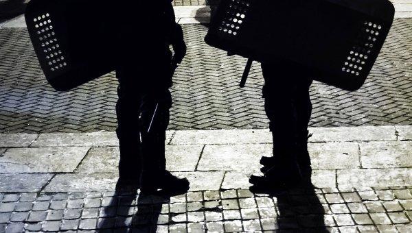 Сотрудники правоохранительных органов в Киеве, архивное фото