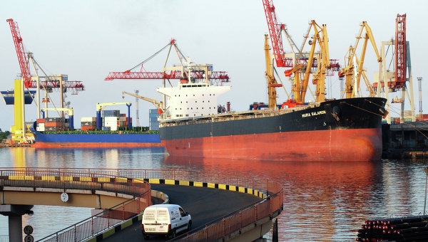 Порт в Одессе. Архивное фото