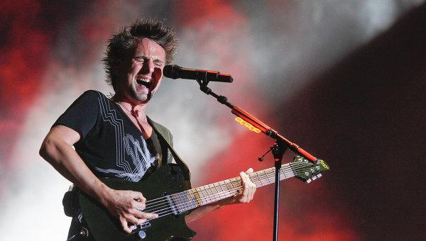 Фронтмен группы Muse - Мэттью Беллами. Архивное фото