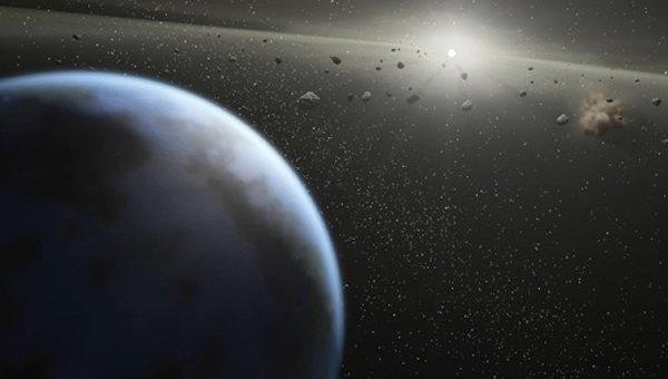 Астероиды в орбите