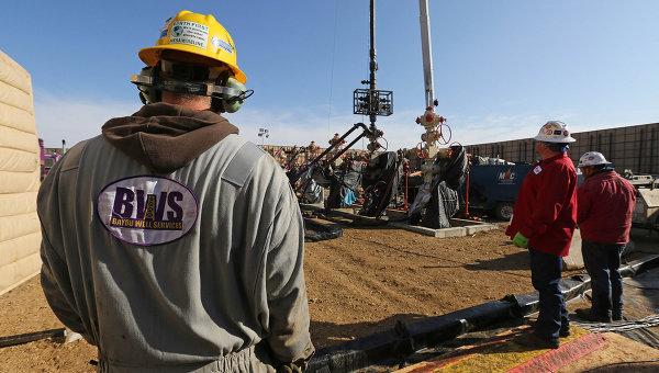 Добыча сланцевой нефти в Колорадо, США. Архивное фото