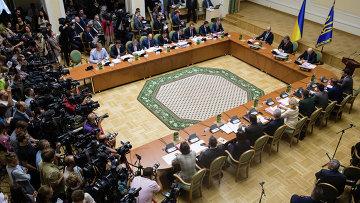 Заседание кабинета министров Украины. Архивное фото.