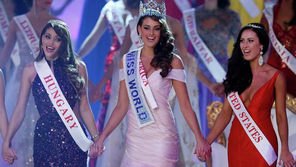 Представительница ЮАР, Ролен Штраус победила в конкурсе Мисс мира - 2014