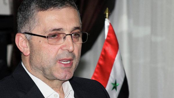 Министр по делам национального примирения Сирии Али Хайдар