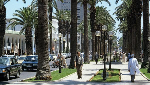 Центр города Касабланки. Архивное фото