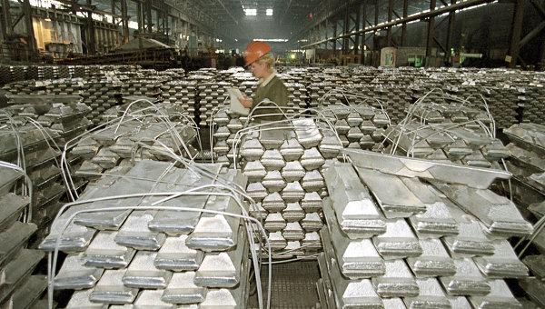 Продукция Саянского алюминиевого завода