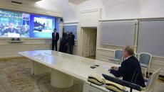 В.Путин провел видеоконференцию с космодромом Плесецк