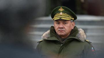 Министр обороны РФ Сергей Шойгу. Архивное фото.