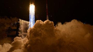 Пуск ракеты тяжелого класса Ангара-А5. Архивное фото
