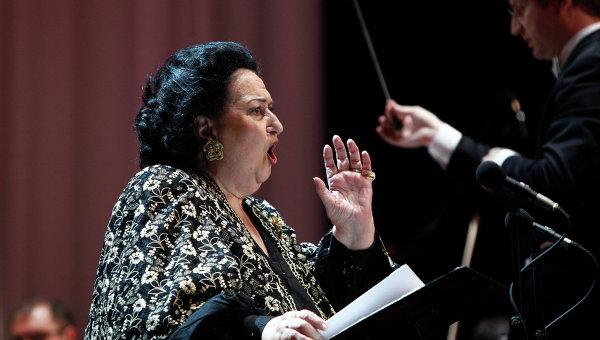 Испанская оперная певица Монсеррат Кабалье. Архивное фото