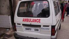 Скорая помощь, Индия. архивное фото