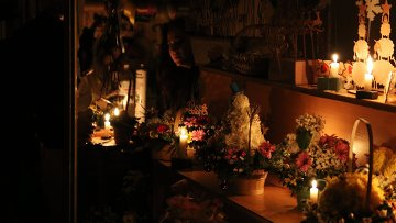 Прекращение электроснабжения Крыма Украиной. Архивное фото