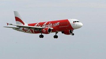 Самолет Airbus A320-200 авиакомпании AirAsia