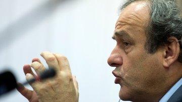 Президент УЕФА Мишель Платини. Архивное фото