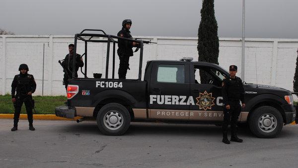 Полиция в Мексике, архивное фото