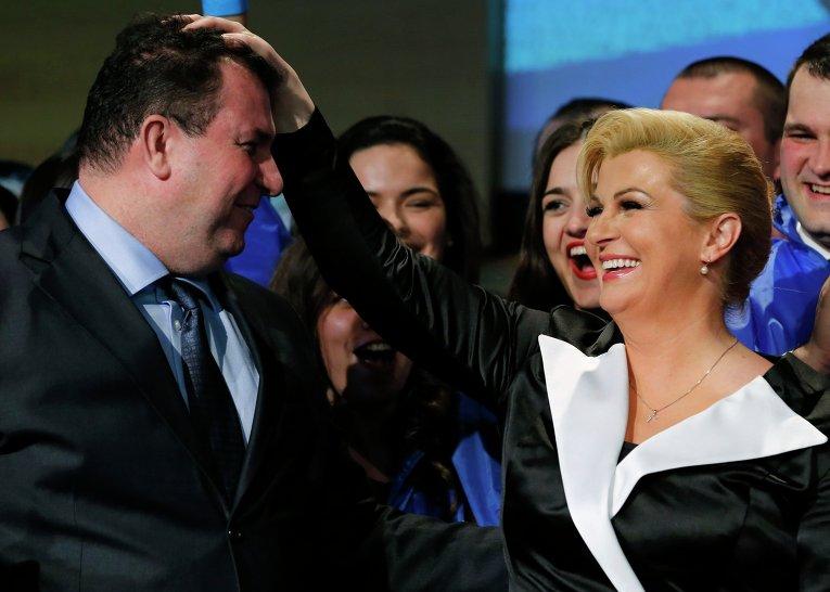 Картинки по запросу муж президента хорватии