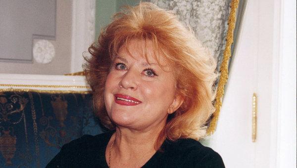 Оперная певица Елена Образцова. 2005