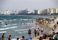 На побережье Средиземного моря в Тунисской Республике