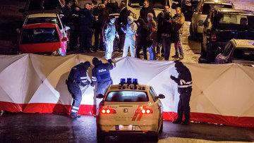 Антитеррористическая операция в городе Вервье. 15 января 2015