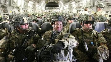 Американские военнослужащие, архивное фото