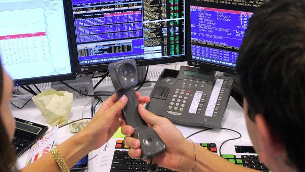 Торги на бирже. Архивное фото