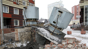 Последствия обстрелов Донецка. Архивное фото