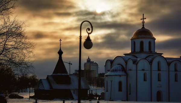 Города мира. Витебск. Архивное фото