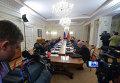 Президент РФ В.Путин провел заседание Военно-промышленной комиссии РФ