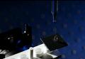 """Кадр из видеоролика, в рамках которого ученые рассказывают о работе металлического """"лотоса"""""""