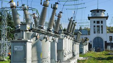 Трансформаторная электроподстанция Крымэнерго. Архивное фото