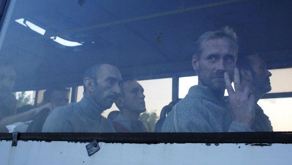 Украинские военнопленные. Архивное фото