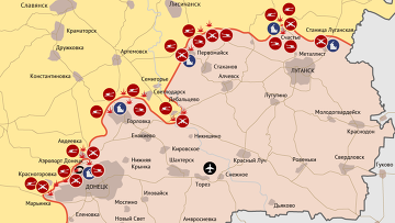 Боевые действия в Донбассе