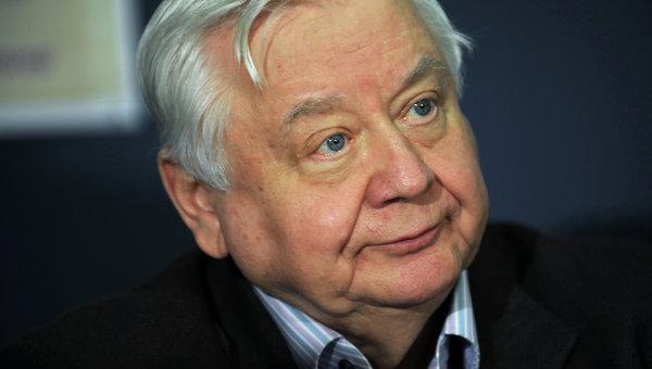 Художественный руководитель МХТ имени А. П. Чехова Олег Табаков. Архивное фото