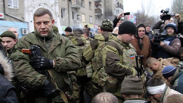 Глава ДНР Александр Захарченко в Донецке. Архивное фото