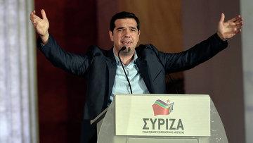 Лидер греческой партии СИРИЗА Алексис Ципрас. Архивное фото