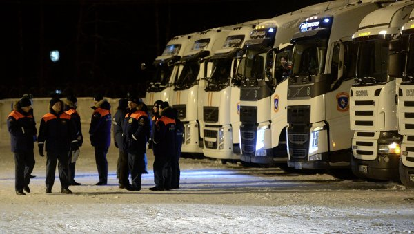 Отправка гуманитарной помощи для жителей Донецкой и Луганской областей