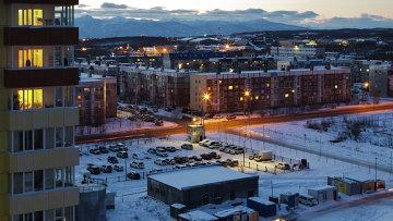 Вид на микрорайон Северо-Восток в городе Петропавловск-Камчатский. Архивное фото