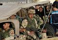 Египетские военные в аэропорту Каира. Архивное фото