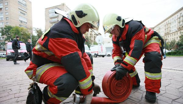 Пожарники. Архивное фото
