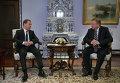 Премьер-министр РФ Д.Медведев встретился с премьер-министром Белоруссии А.Кобяковым