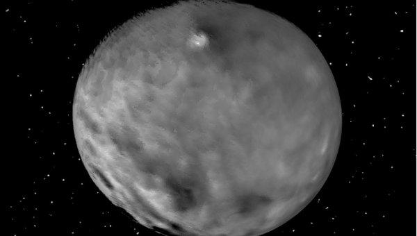 Снимок Цереры, полученный зондом Dawn 4 февраля 2015