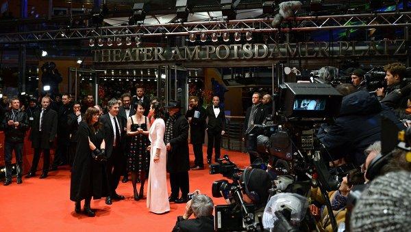 Церемония открытия 65-го Берлинского международного кинофестиваля. Архивное фото